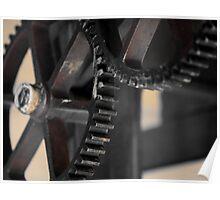 Gear wheels Poster