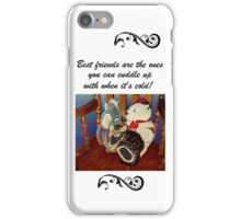 Adorable Kitten with Stuffed Animals iPhone or iPod Cases iPhone Case/Skin