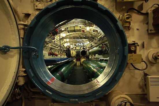 aboard submarine  by mrivserg