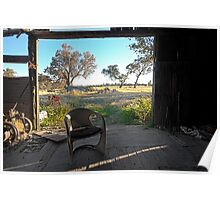 Bullenbong Woolshed Poster
