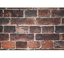 old brickwork  Photographic Print