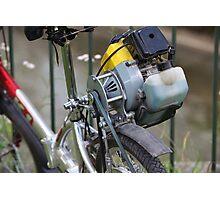 homemade moped Photographic Print