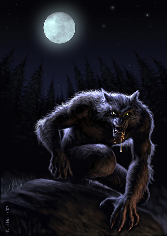 Werewolf by Paul Mudie