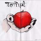 sketchbook project - Tempt by Rosemary Scott