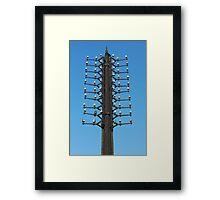 oldest telegraph pole Framed Print