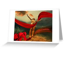 Christ Resurrected Greeting Card