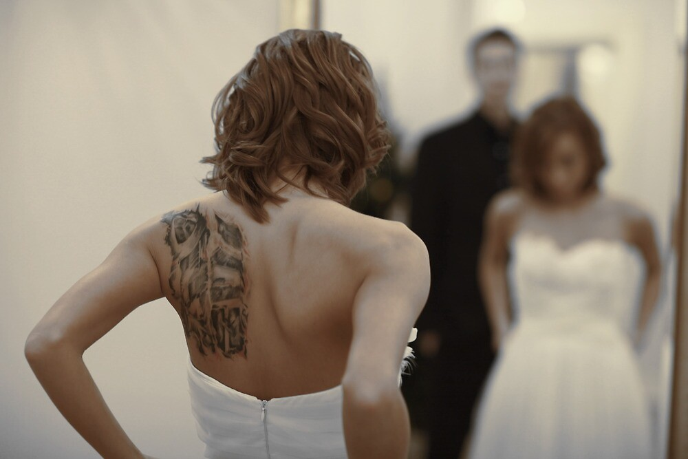 bride in the mirror by mrivserg