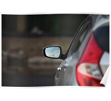 Car Rear View Mirror     Poster
