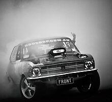FRONT/BACK Motorfest Burnout by VORKAIMAGERY