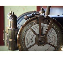 Ship telegraph Photographic Print