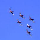 Roullettes Formation Flying by Guyzimij
