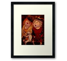 """""""But NO ONE can match US Darling !!!!!....."""" Framed Print"""