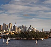 Once more around Goat Island by Rene Vogelzang