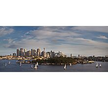 Once more around Goat Island Photographic Print