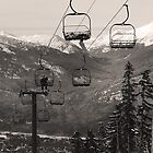 A Very Relaxed Chairlift by Ryan Davison Crisp