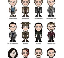 Hiddlespotting (poster/card/notebook) by redscharlach
