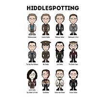 Hiddlespotting (poster/card/notebook) Photographic Print