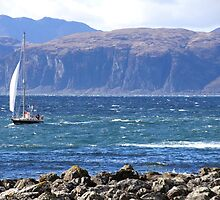 Off the West Coast of Scotland by Braedene