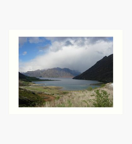 New Zealand Lanscape Art Print