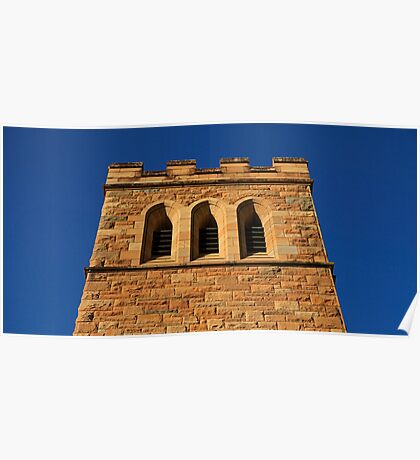 The Church Tower Poster
