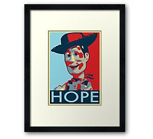 Woody - Hope Framed Print