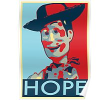 Woody - Hope Poster