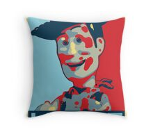 Woody - Hope Throw Pillow