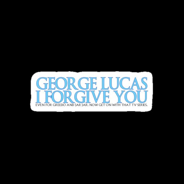 George Lucas, I forgive you. by ideedido
