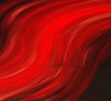 Flowing Paint Oil Painting by Fred Seghetti