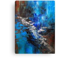 Splash of Color Oil Painting 3 Canvas Print