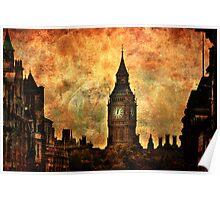 Big Ben View From Trafalgar Square Poster
