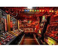 Slot Machines Photographic Print
