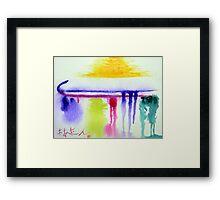 Thursday Abstract  Framed Print