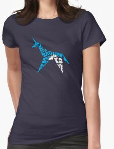 Gaff's Concession: Folded Version Womens Fitted T-Shirt