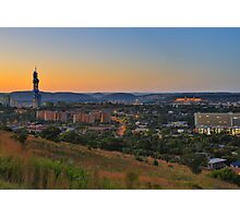 Pretoria at night #6 Photographic Print