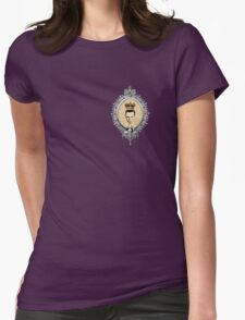 """""""Honey...You should see me in a crown!"""" Womens Fitted T-Shirt"""