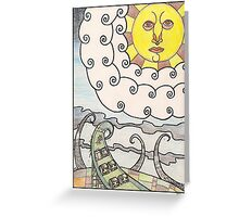 ghost estate Greeting Card