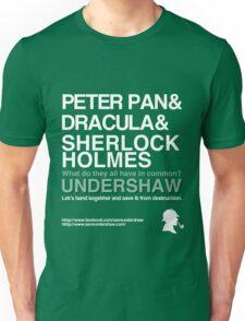 Save Undershaw Now Unisex T-Shirt