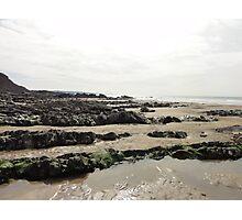 northcott beach bude cornwall Photographic Print