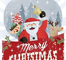 Merry Christmas Card by dsmithonline