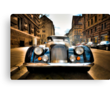 Morgan Plus 8 Front Canvas Print