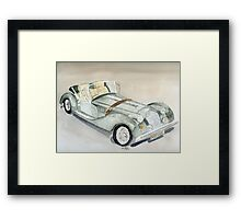 Morgan Sports Car Framed Print