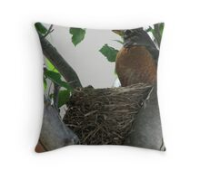 Proud Momma June 6, 2009 Throw Pillow