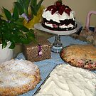 Easter Pies and Cakes by Cathy Amendola