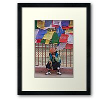 Japa Mala Time Framed Print