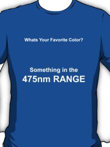 I Like Color [475nm] T-Shirt