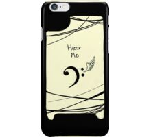 Hear Me iPhone Case/Skin