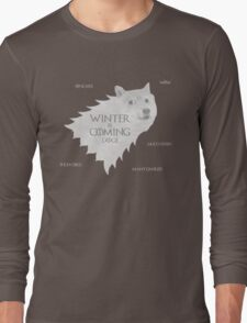 House Doge - Winter Is Coming Long Sleeve T-Shirt