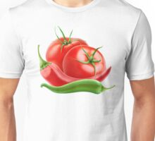 Hot sauce ingredients Unisex T-Shirt