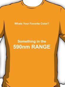I Like Color [590nm] T-Shirt